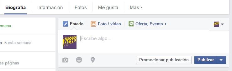 programar una publicacion en facebook 1