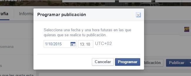 programar una publicacion en facebook 4