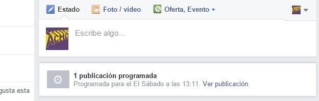 programar una publicacion en facebook 6