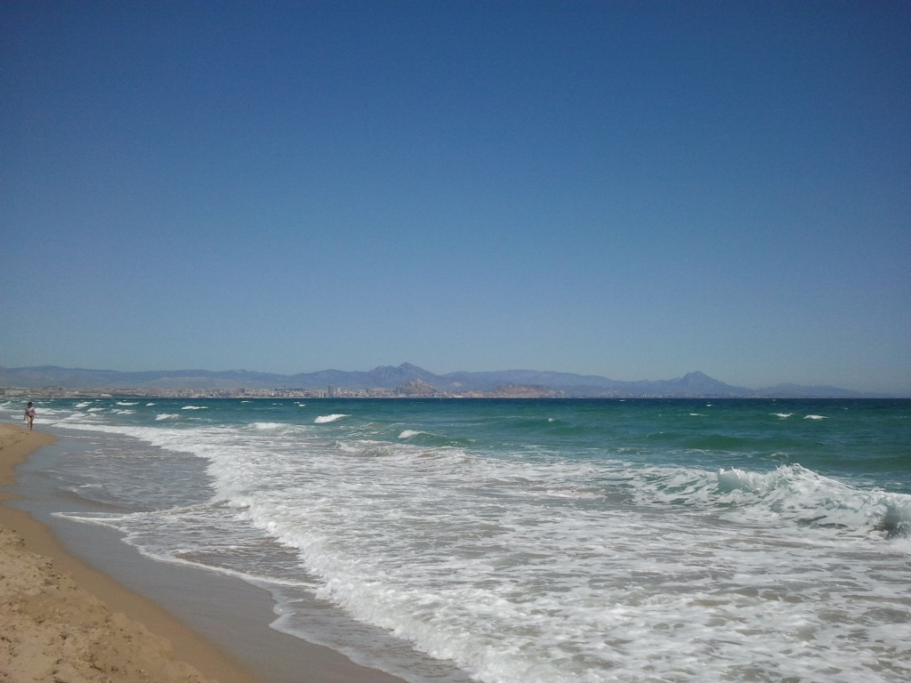 Playa de El Altet en Primavera
