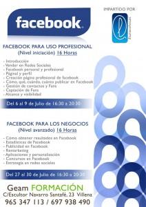 cursos facebook en villena julio 2015 impartido por laura mateo catalán