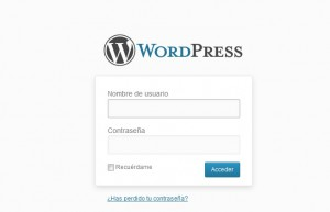 acceder al blog wordpress.com