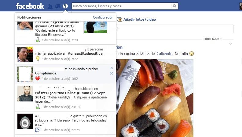 Bloquear aplicaciones o juegos en Facebook. paso1.