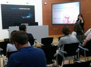 Curso Presentaciones Eficaces para emprendedores Centro Emprendedores Alicante Laura Mateo