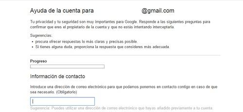 paso4. Recuperar contraseña gmail