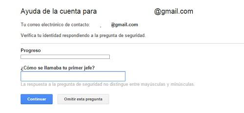 paso6. Recuperar contraseña gmail