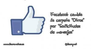 facebook request o peticiones de mensaje